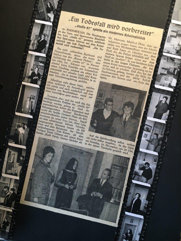1965 - Ein Todesfall wird vorbereitet (2)