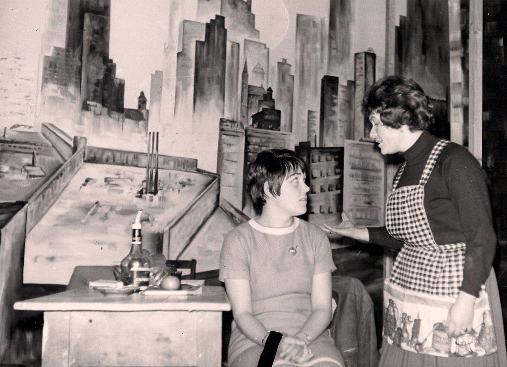 1967 - Blick von der Brücke